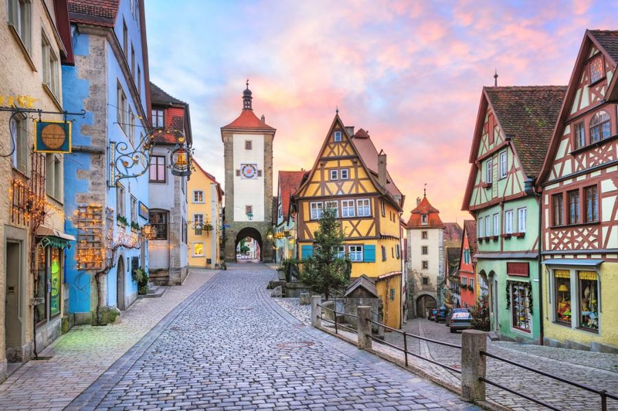 европейские города